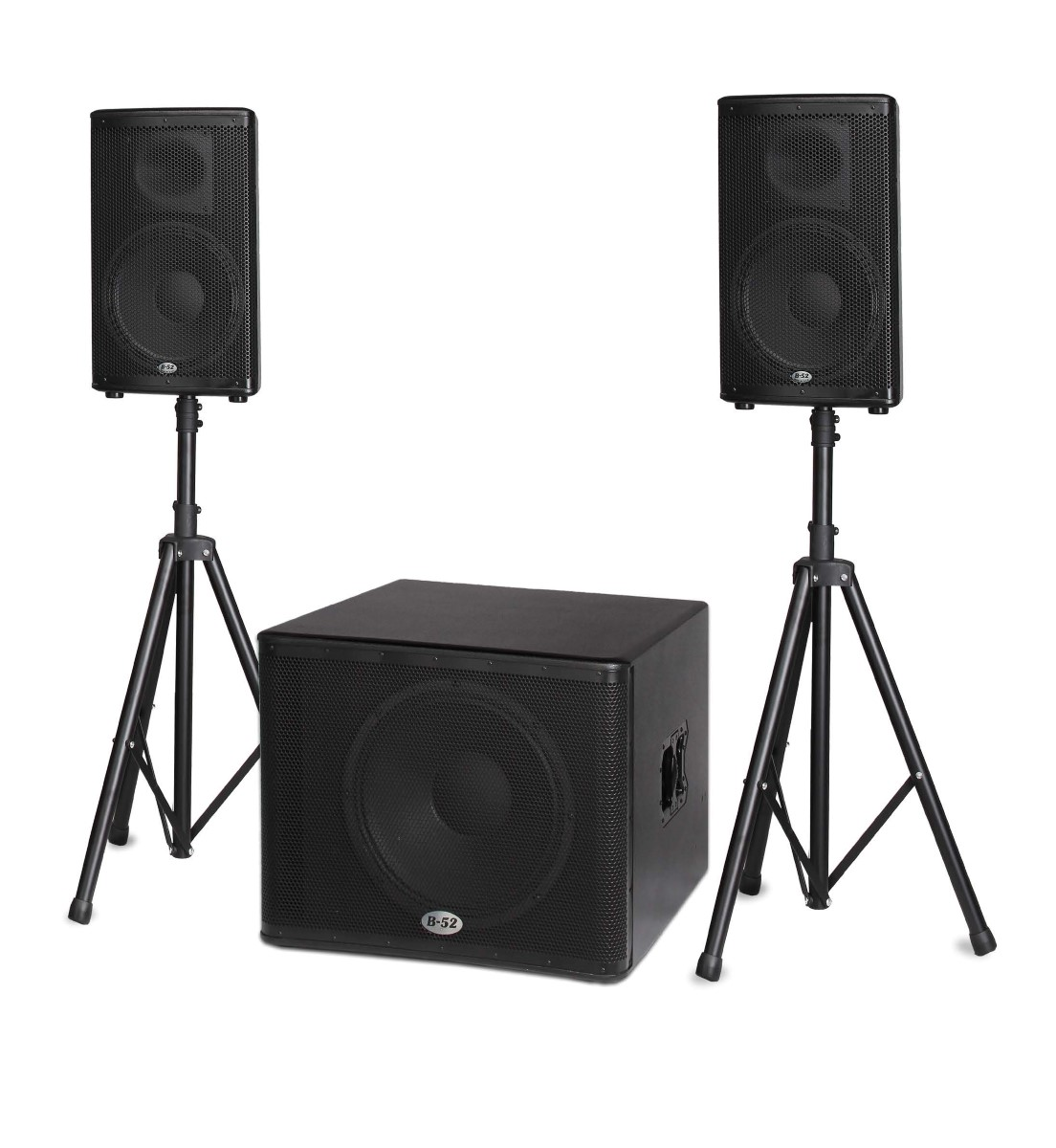 B-52 Pro Matrix-2500 Bbe - 1600-Watt Active Speaker System