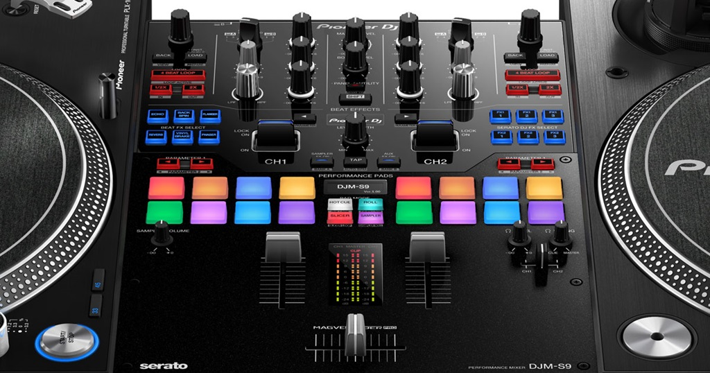 Dj equipment and pro audio new dj gear dj sound system - Table de mixage pioneer djm 5000 ...