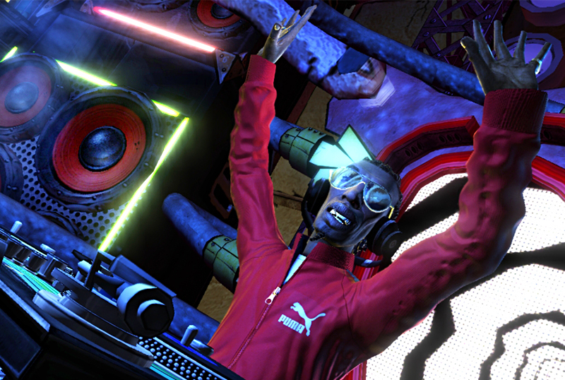 DJ Hero screenshot, as the music and rhythm game is released an reviewed