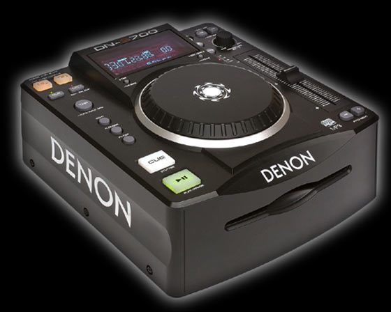 Denon DN-S700 CD/MP3 player w/ seamless looping, hot start and sound effects