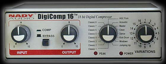 Nady DigiComp 16 digital processor, effector, compressor w/ sound effects