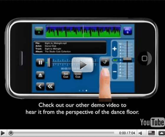 Quixonic released their iPhone DJ app named Quixpin DJ, allowing for full mixing from the iPhone