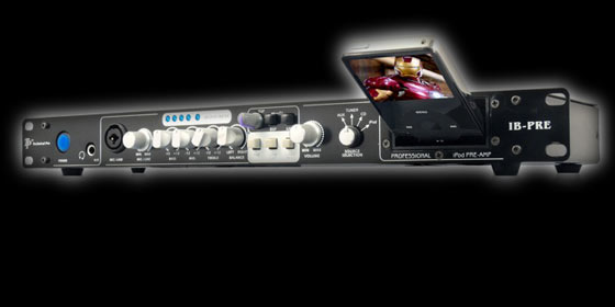 Technical Pro IB-PRE preamp and sound processing unit for iPod integration into your DJ setup