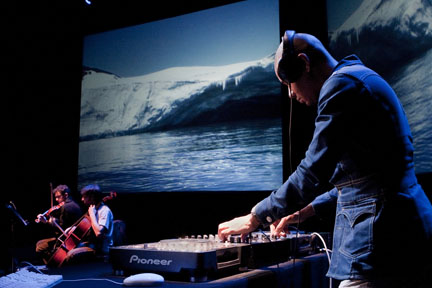 Terra Nova: Sinfonia Antarctica is a new visual audio piece from DJ Spooky